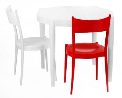 Stół i krzesło Polonia / Polonia table and chair, projekt: Jadwiga Husarska Chmielarz i Paged Design Team (źródło: materiały prasowe organizatora)