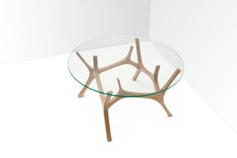 Stolik Łoś / Łoś table, projekt: Małgorzata Malinowska, Filip Ludka, Tomasz Kempa (źródło: materiały prasowe organizatora)