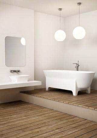 Wanna Liva / Liva bathtub, projekt: MOWO Studio (źródło: materiały prasowe organizatora)