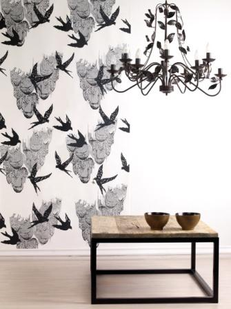 Tapety / Wallpaper, projekt: Justyna Medoń (źródło: materiały prasowe organizatora)