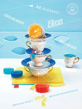 Kolekcja Circus / Circus collection, projekt: Marek Mielnicki (źródło: materiały prasowe organizatora)