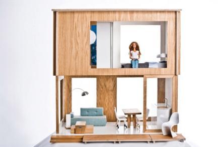 Domek dla Lalek / Doll house, projekt: Małgorzata Drozdowska, Agnieszka Klimczak (źródło: materiały prasowe organizatora)