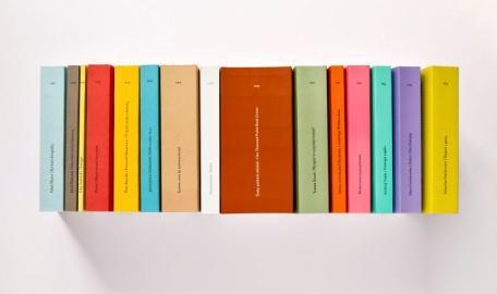 Seria książek dla Wydawnictwa 40 000 Malarzy, projekt: Aleksandra i Daniel Mizielińscy – Hipopotam Studio (źródło: materiały prasowe organizatora)