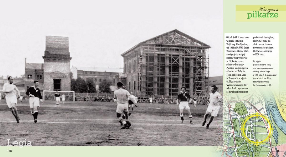 Sporty warszawskie, piłkarze (źródło: materiały prasowe)