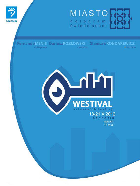 Westival – Sztuka Architektury, plakat (źródło: materiały prasowe organizatora)