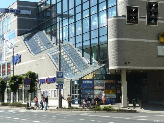 Centrum Handlowe Kupiec, proj. Stanisław Kondarewicz (źródło: materiały prasowe organizatora)