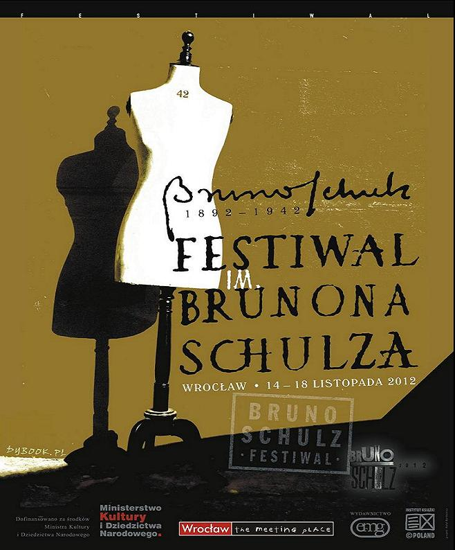 Festiwal im. Brunona Schulza, plakat (źródło: materiał prasowy)