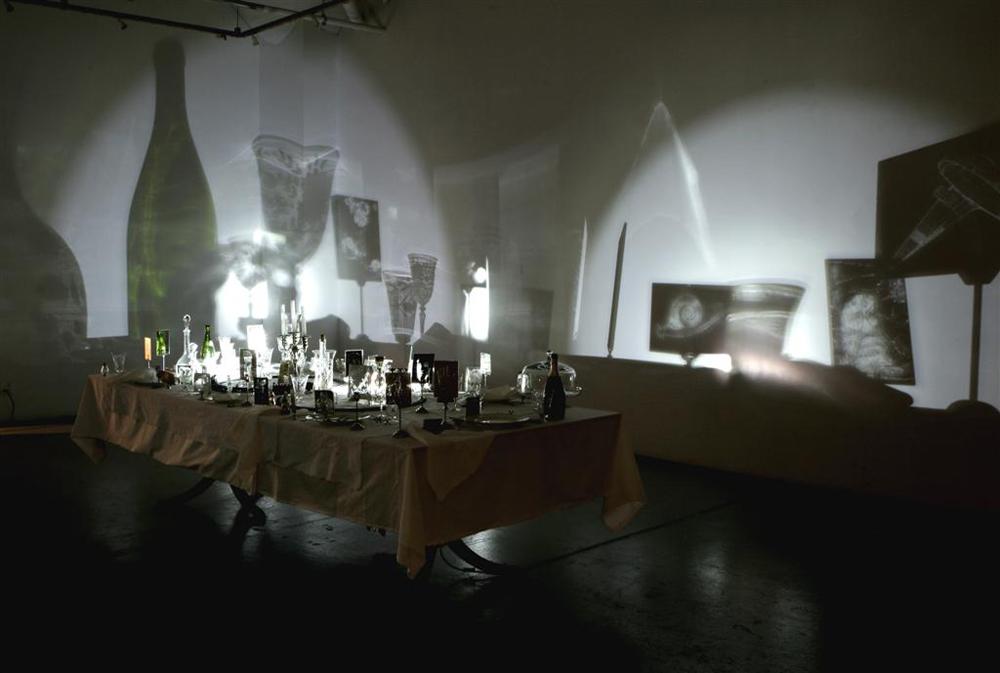 Hanna von Goeler, Cienie rzucane przez zwykłe przedmioty, 2009 (źródło: materiały prasowe organizatora)