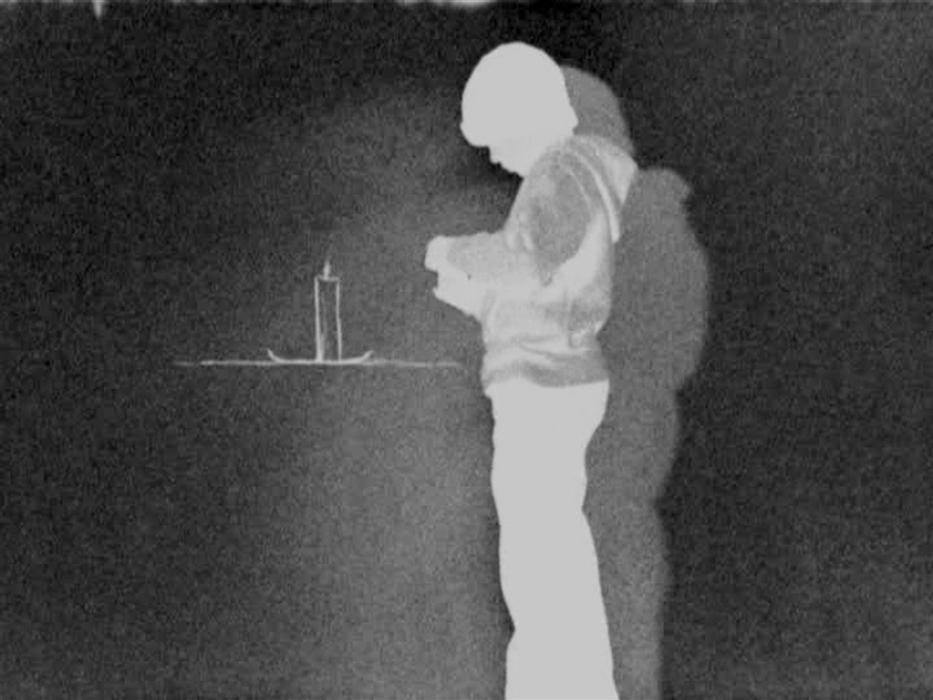 Robin Rhode, Chłopiec i świeca, 2009 (źródło: materiały prasowe organizatora)