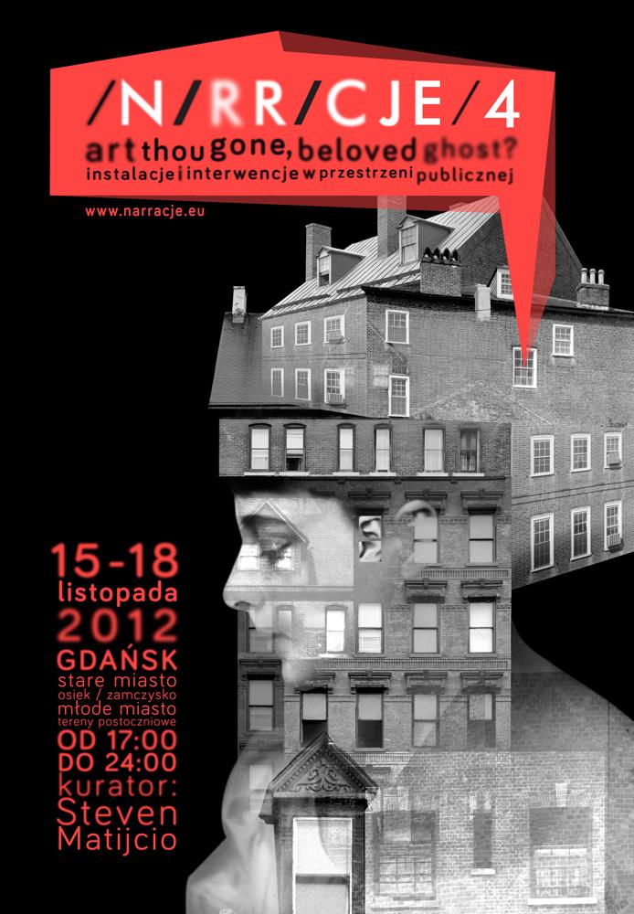 Festiwal Narracje, plakat (źródło: materiały prasowe organizatora)