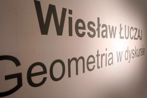 """Wiesław Łuczaj, """"Geometria w dyskursie"""", MCSW Elektrownia w Radomiu (źródło: materiały prasowe organizatora)"""