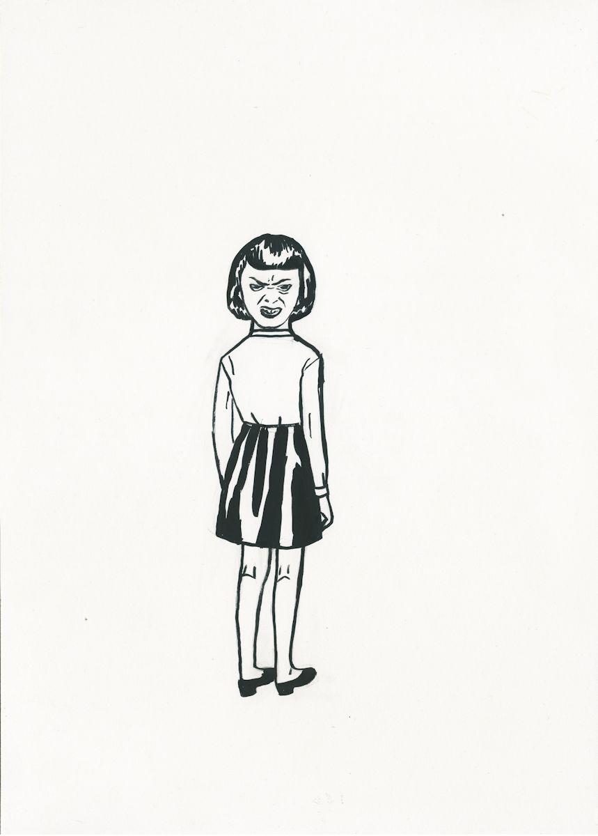 """Aleksandra Waliszewska, """"Dziewczynka sówka"""" (źródło: materiały prasowe organizatora)"""