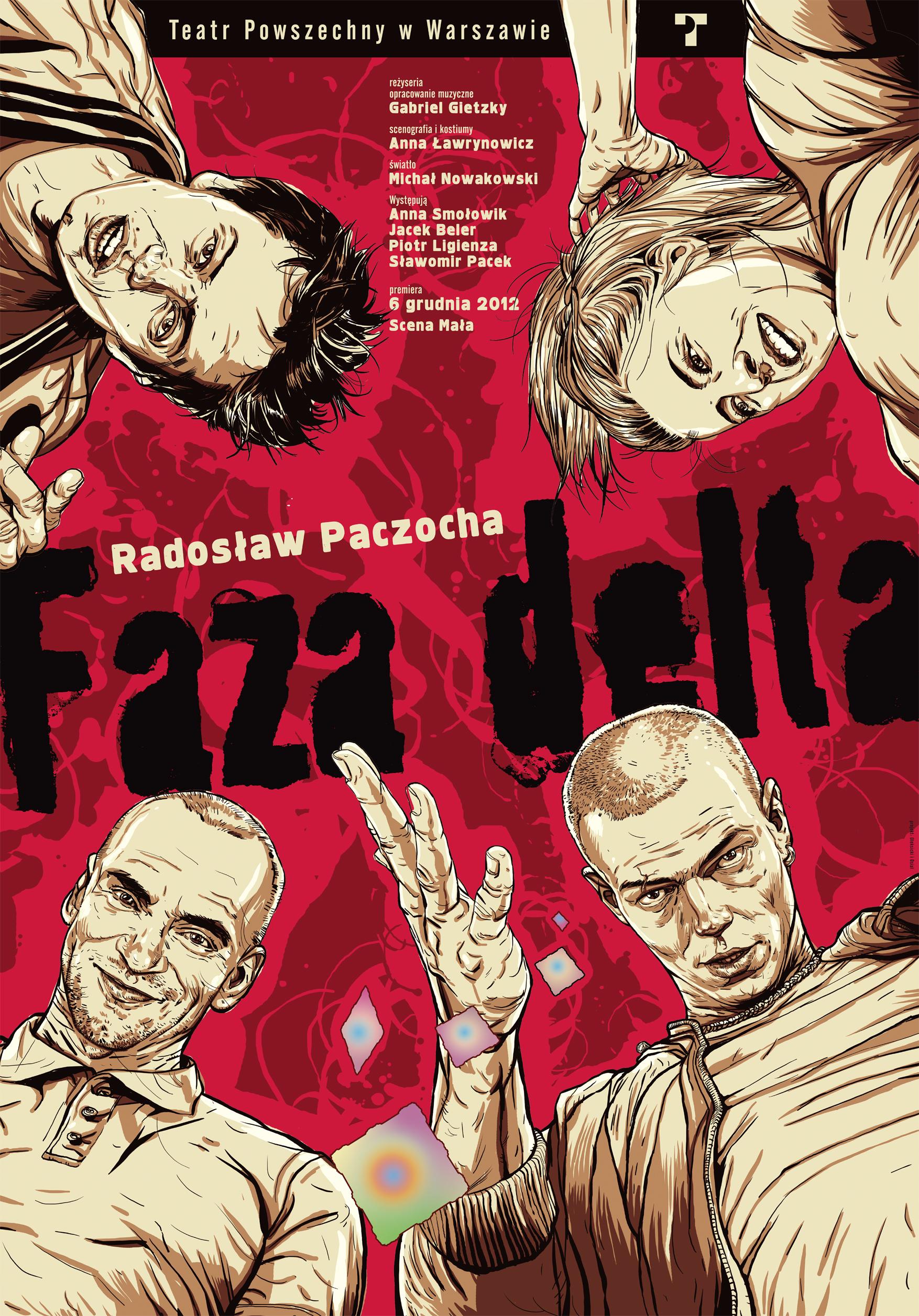"""""""Faza delta"""", reż. Gabriel Gietzky, plakat (źródło: materiał prasowy)"""