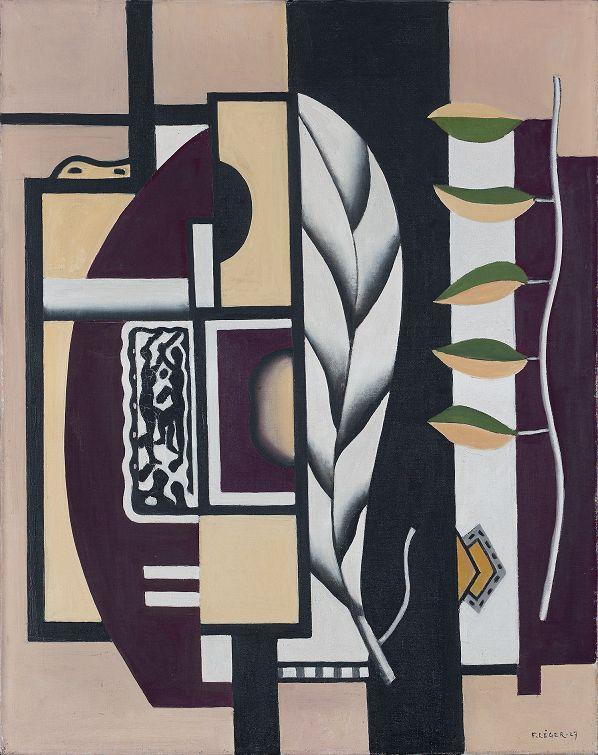 """Fernand Léger, """"Zielone liście"""" (Les feuilles vertes), 1927 (źródło: materiały prasowe organizatora)"""