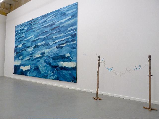 """Wystawa """"Niebieski najpiękniejszy kolor świata"""", Galeria Propaganda w Warszawie (źródło: materiały prasowe organizatora)"""