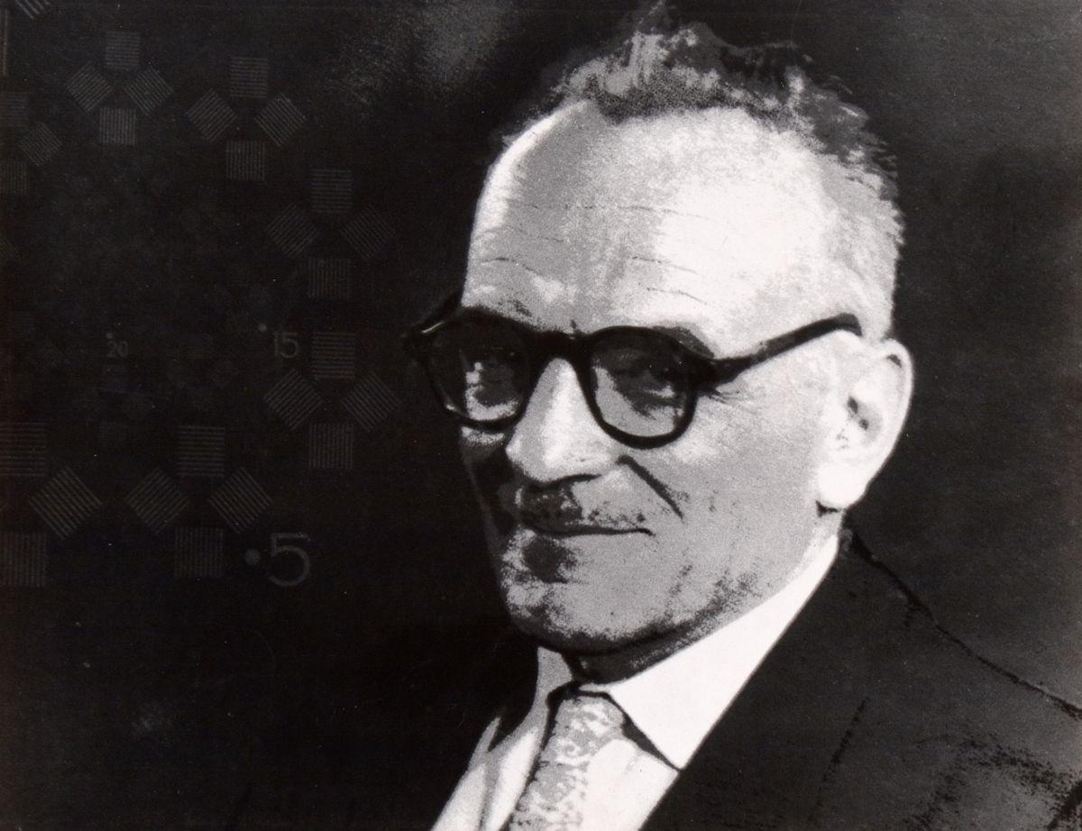 """Bronisław Kupiec, """"Portret Witolda Romera"""", ok. 1960 (źródło: materiały prasowe organizatora)"""