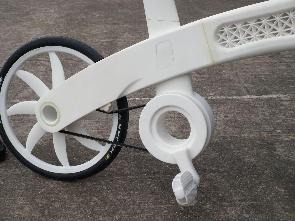 Airbike, 2011, projekt: EADS UK Ltd; Rower Airbike wykonany w technologii addytywnej, fot. EADS UK Ltd (źródło: materiały prasowe organizatora)