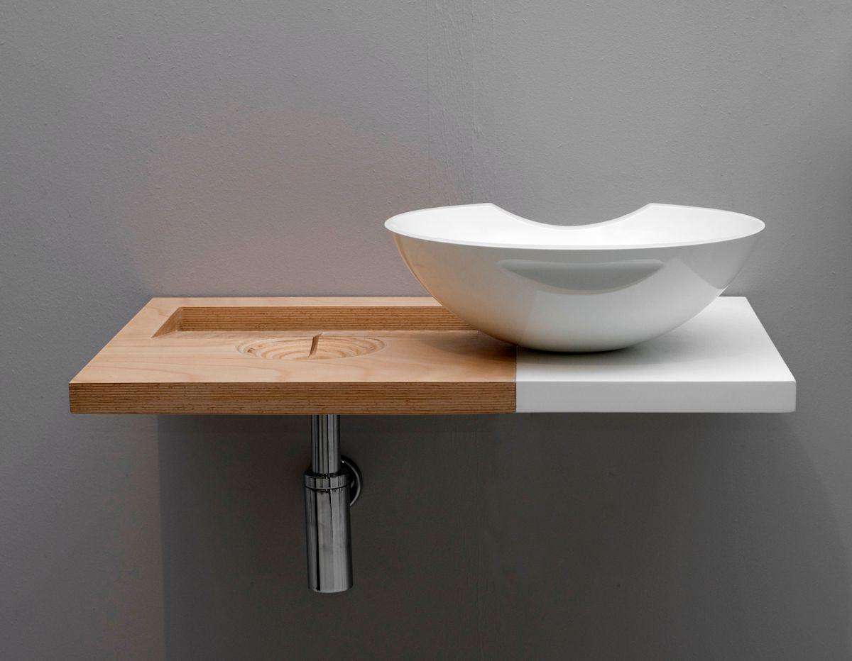 Umywalka Plugless Sink, 2008, projekt: Maja Ganszyniec i Krystian Kowalski / Kompott Studio (źródło: materiały prasowe organizatora)