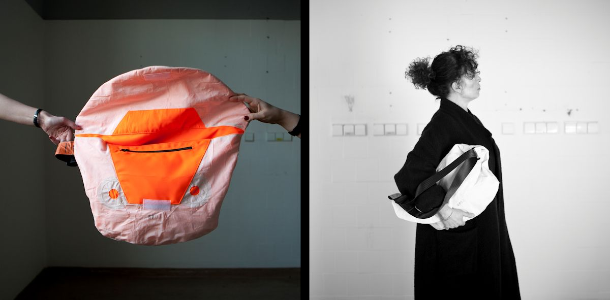 Torby M.A.M. Airbagi, 2011, Projekt: Maja Szczypek, Ania Łyszcz, Magda Rychard (źródło: materiały prasowe organizatora)