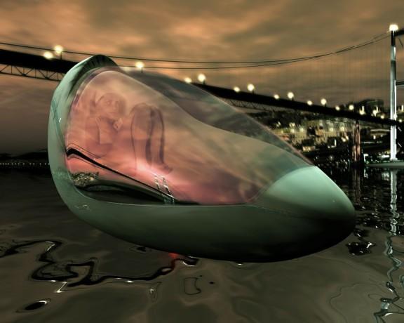 """Hussein Chalayan, """"Miejsce przejścia"""", 2003. Kolor i dźwięk. Scenariusz i reżyseria filmu: Hussein Chalayan, 12'10'. Dzięki uprzejmości: Galerist, Istanbul"""