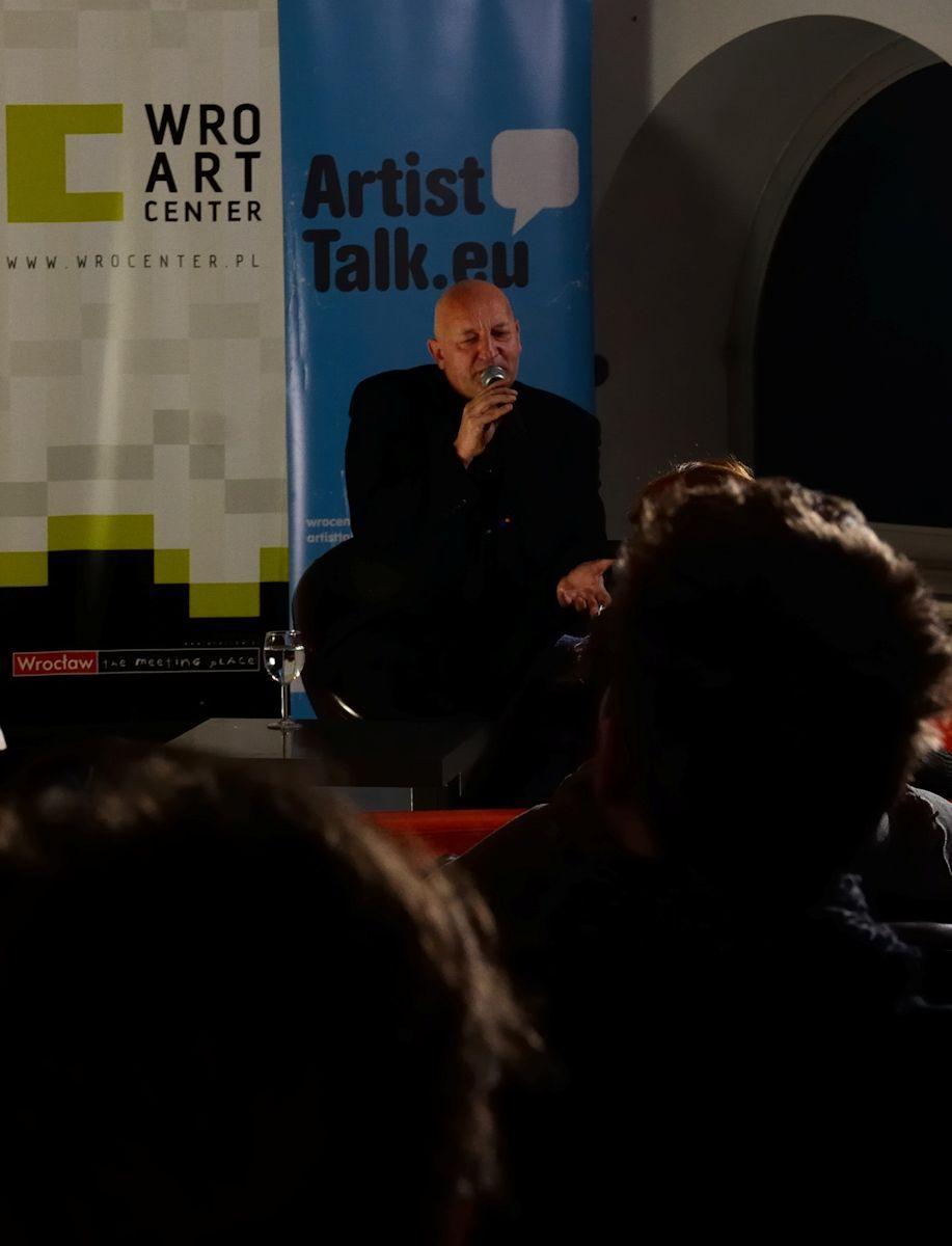 Artist Talk z Leszkiem Knaflewskim (źródło: materiały prasowe organizatora)