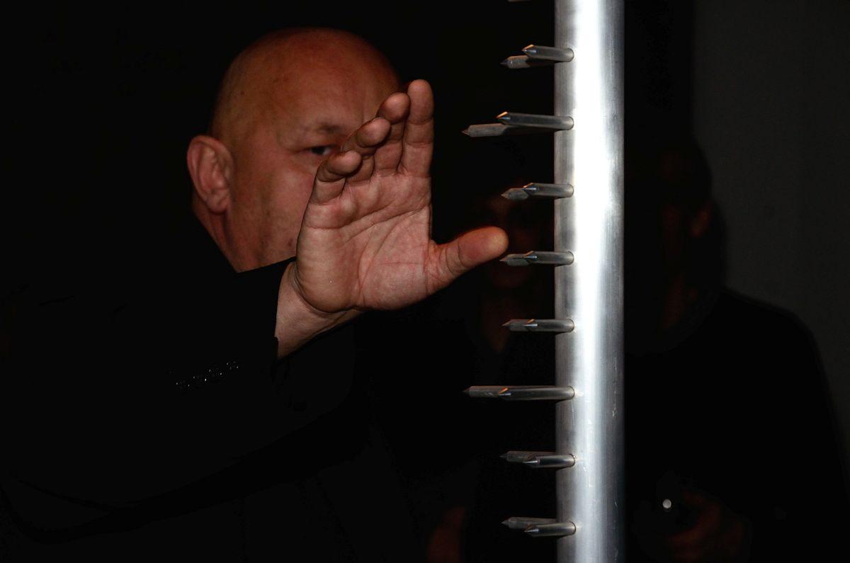 """Wernisaż wystawy Leszka Knaflewskiego """"Stoisz na moim miejscu"""", Centrum Sztuki WRO we Wrocławiu, 26 lutego 2013 roku, fot. Z. Kupisz (źródło: materiały prasowe organizatora)"""