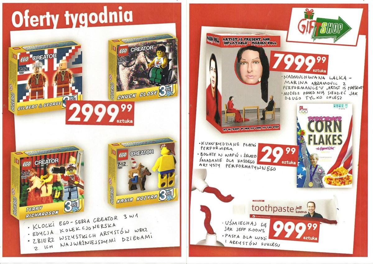 """Filip Ignatowicz, Marcin Szuszkiewicz, """"Gift shop"""" (źródło: materiały prasowe organizatora)"""