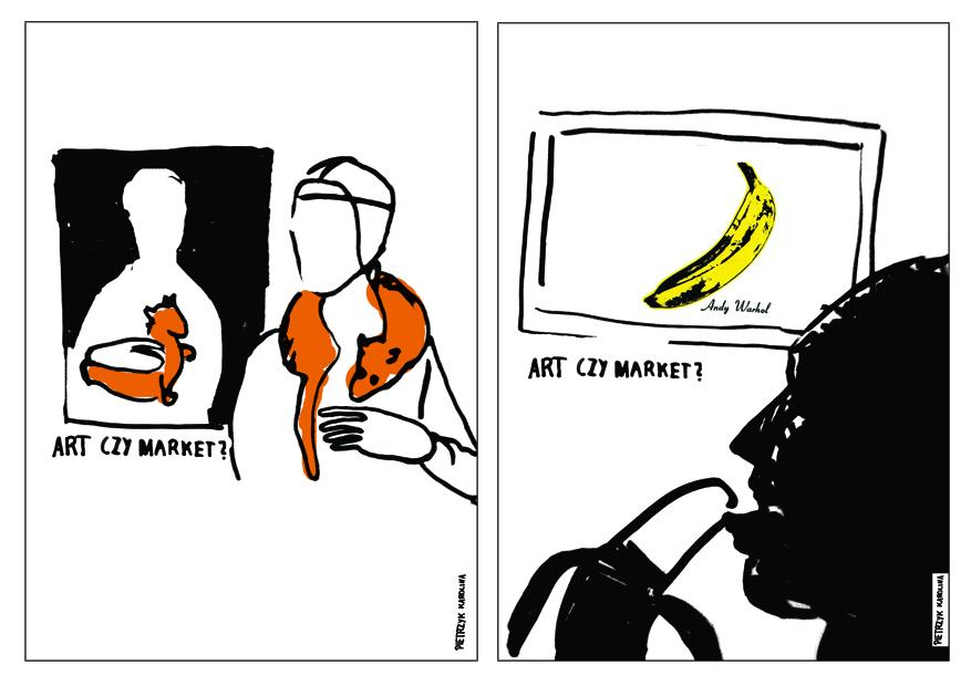 """Karolina Pietrzyk, """"Art czy market"""" (źródło: materiały prasowe organizatora)"""
