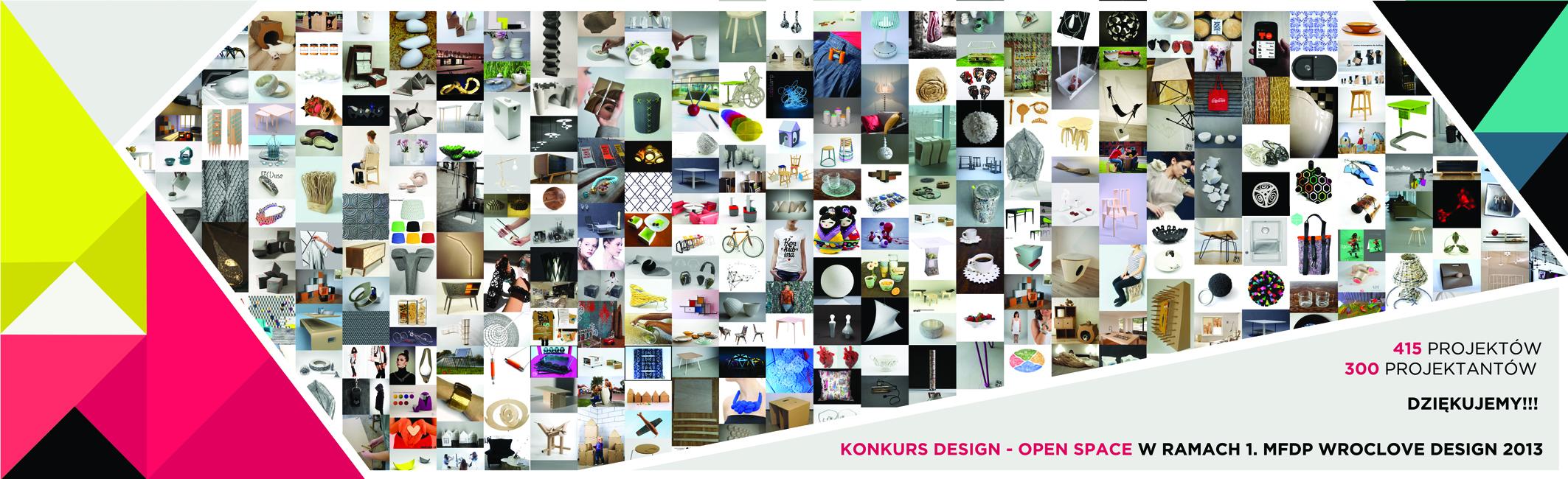 Konkurs Design-Open Space – wszystkie prace (źródło: materiały prasowe organizatora)