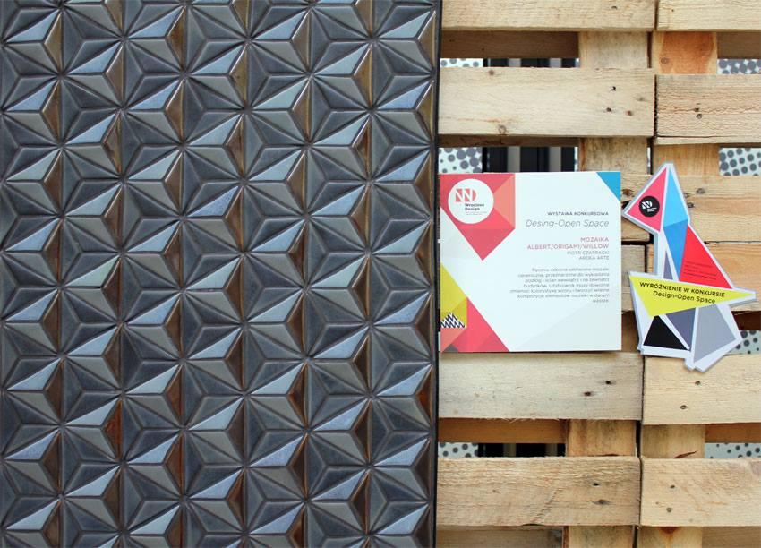 Mozaika Origami – projekt Ardea Arte (źródło: materiały prasowe organizatora)
