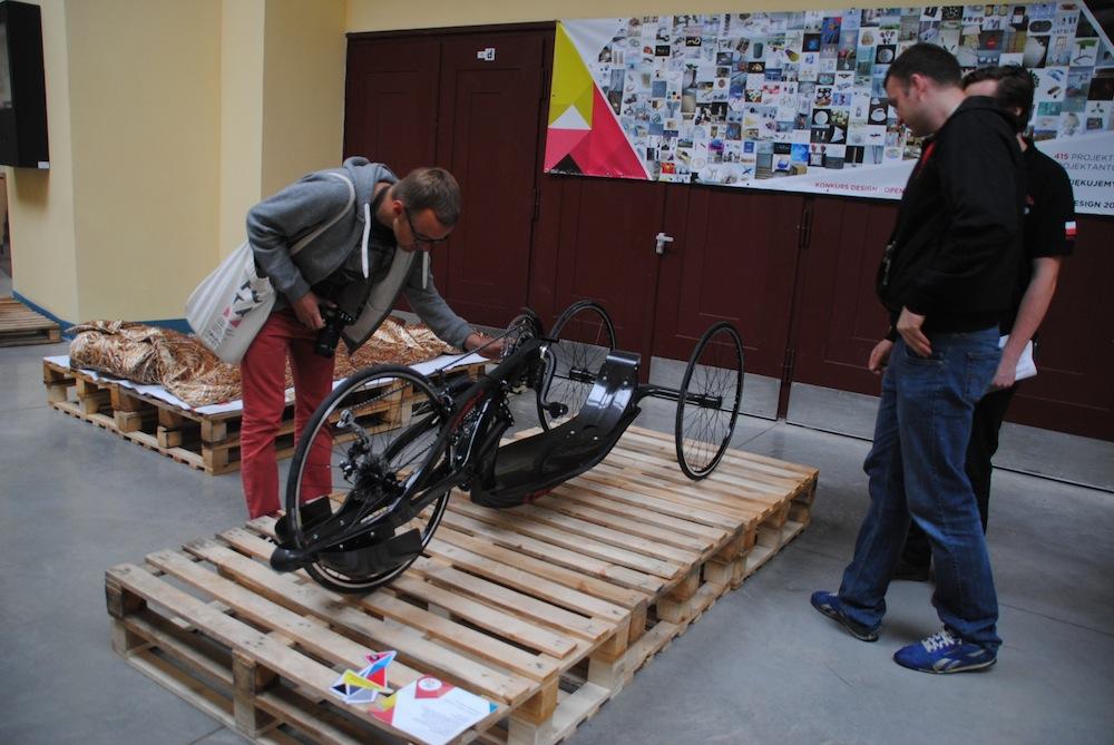 Rower dla niepełnosprawnych Time Trial – projekt Carbon Bike (źródło: materiały prasowe organizatora)