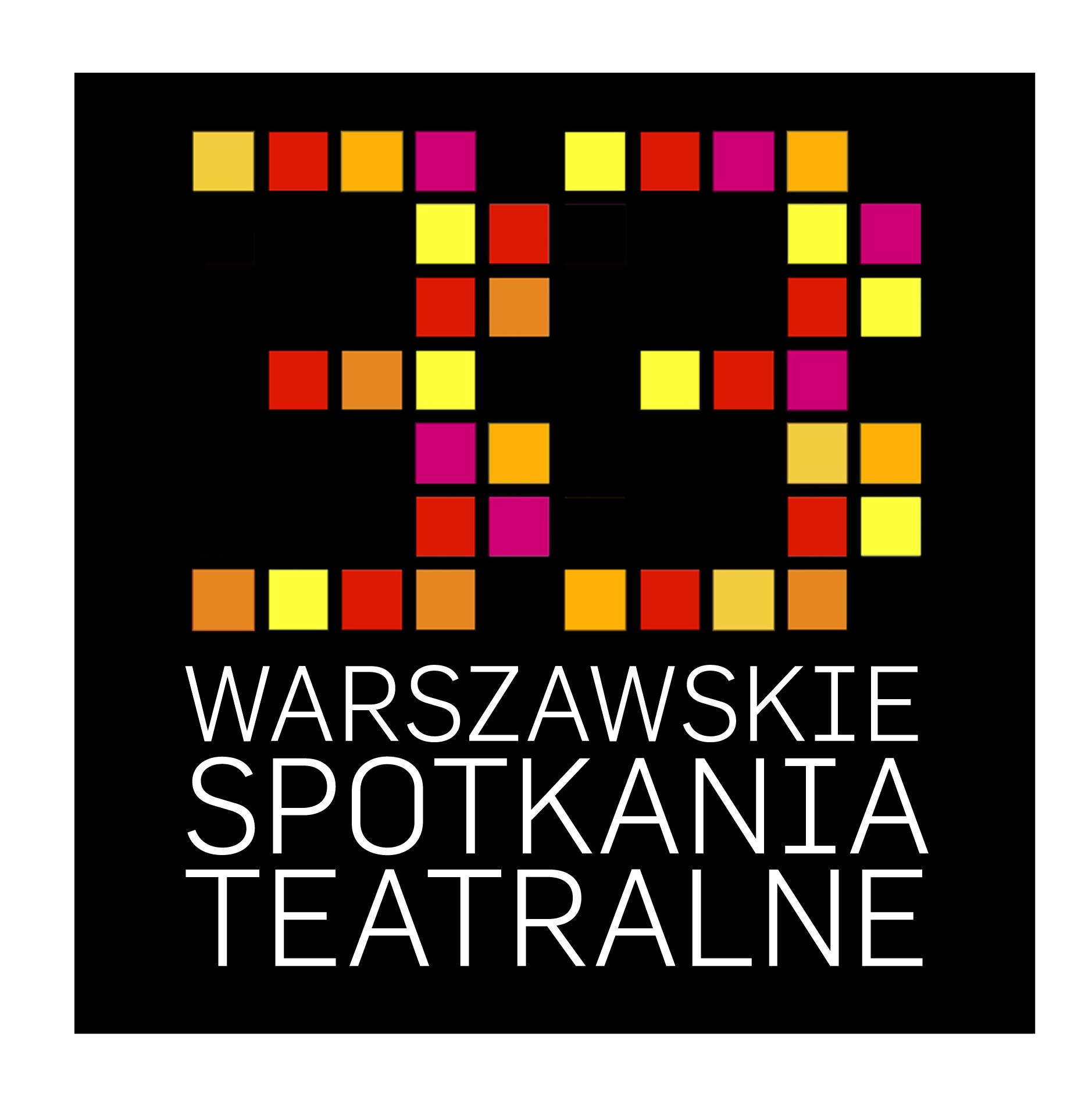 33. Warszawskie Spotkania Teatralne, logo (źródło: materiały prasowe)