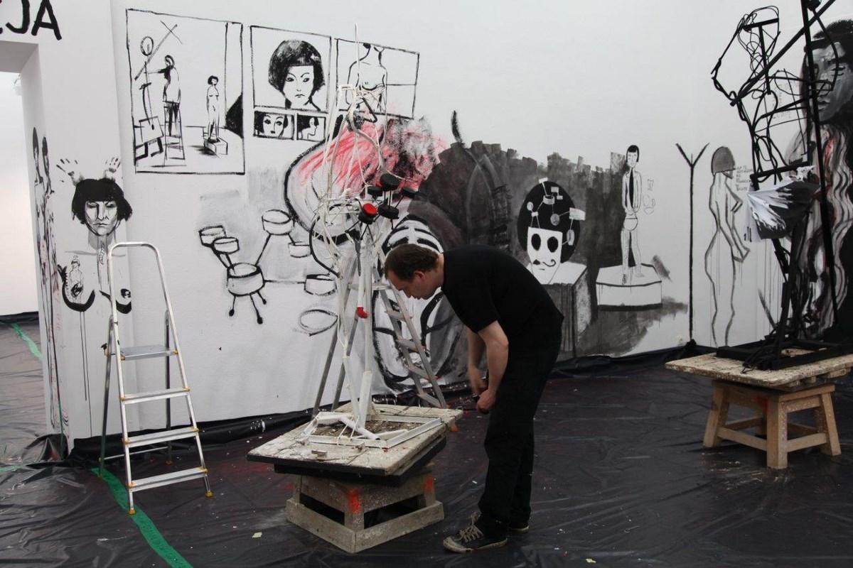 """Wystawa """"Cześć Akademii"""", Galeria Salon Akademii w Warszawie (źródło: materiały prasowe organizatora)"""