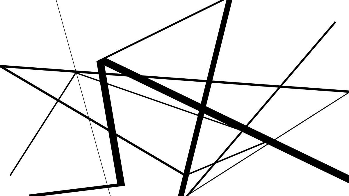 """Robert Świerczyński, """"Sekwencja. Kompozycja następstw w czasie. Od bieli do czerni i od czerni do bieli... w czasie 30 sekund"""", Pracownia Kompozycji Brył i Płaszczyzn Grzegorza Kowalskiego (źródło: materiały prasowe organizatora)"""