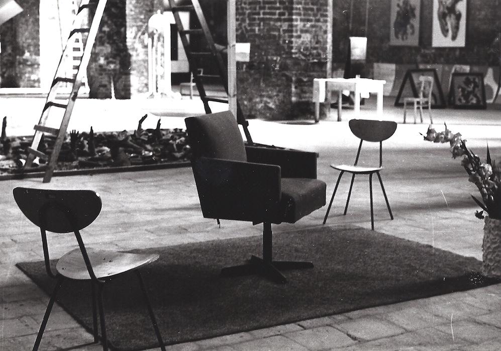 Włodzimierz Borowski – Projekt zrealizowany na IV Biennale Form Przestrzennych Zjazd Marzycieli 1971. Dzięki uprzejmości Galerii EL w Elblągu (źródło: materiały prasowe organizatora)