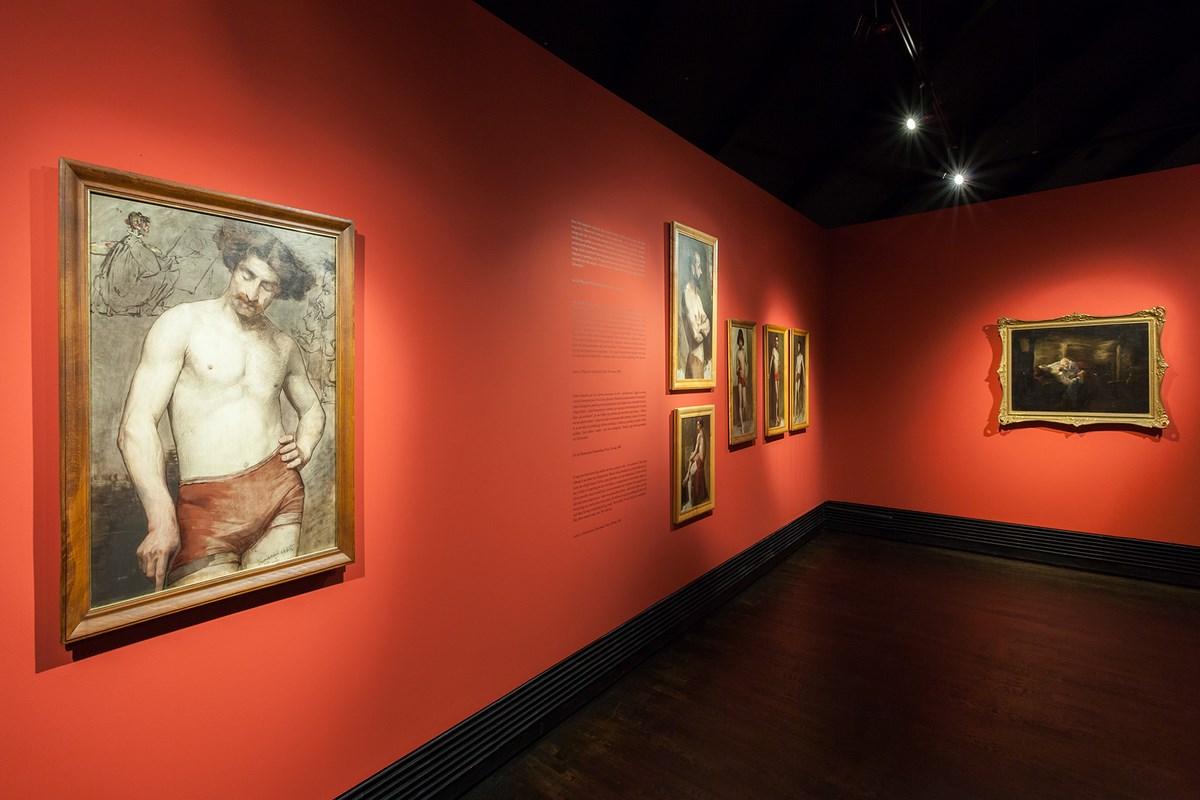"""Wystawa """"Anna Bilińska. Kobieta"""", Muzeum Sztuki i Techniki Japońskiej Manggha w Krakowie (źródło: materiały prasowe organizatora)"""