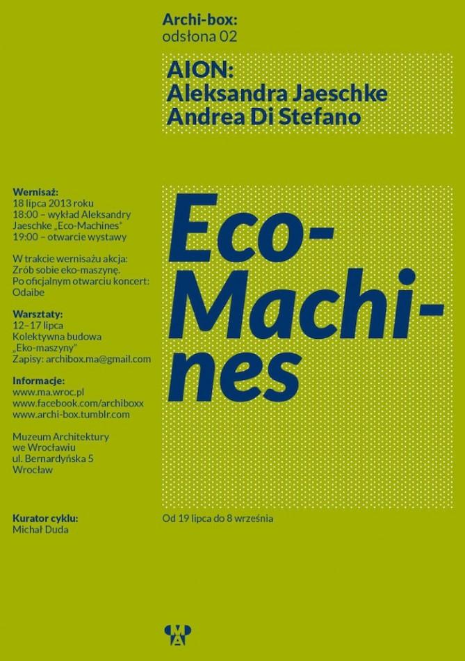 Eco-Machines (źródło: materiały prasowe organizatora)