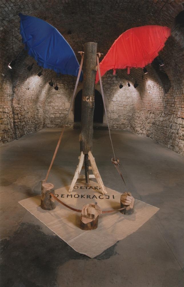 Jerzy Bereś, Ołtarz demokracji, 2007, fot. Marek Gardulski (źródło: materiały prasowe organizatora)