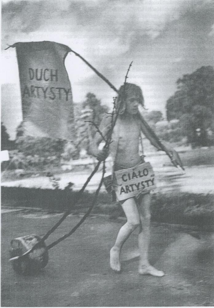 Jerzy Bereś, Pomnik artysty, 1978, fot. Piotr Borącz (źródło: materiały prasowe organizatora)