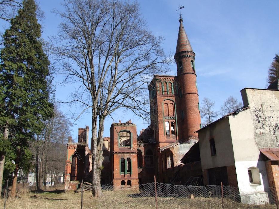 Sokołowsko, budynek dawnego sanatorium dr. Brehmera, przyszłe Międzynarodwe Laboratorium Kultury (źródło: materiały prasowe organizatora)