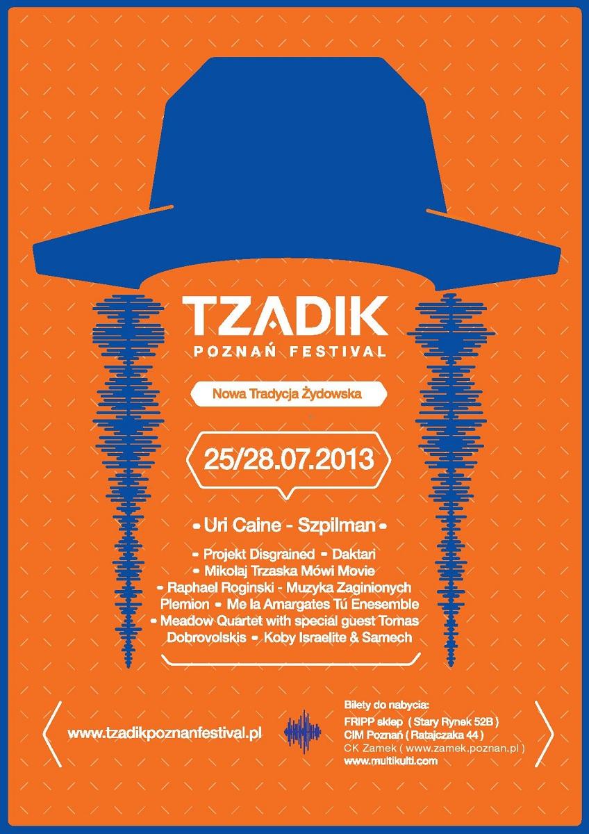 Tzadik Poznań Festival, logo (źródło: mat. prasowe)