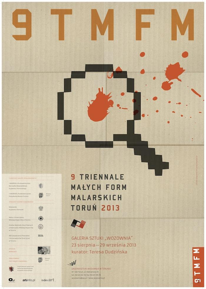 9. Triennale Małych Form Malarskich w Toruniu (źródło: materiały prasowe organizatora)