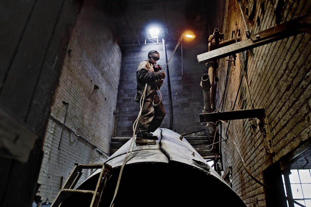 """Christian Burkert """"Last Exit Detroit"""" z wystawy """"3xAmerica"""" (źródło: materiały prasowe organizatora)"""
