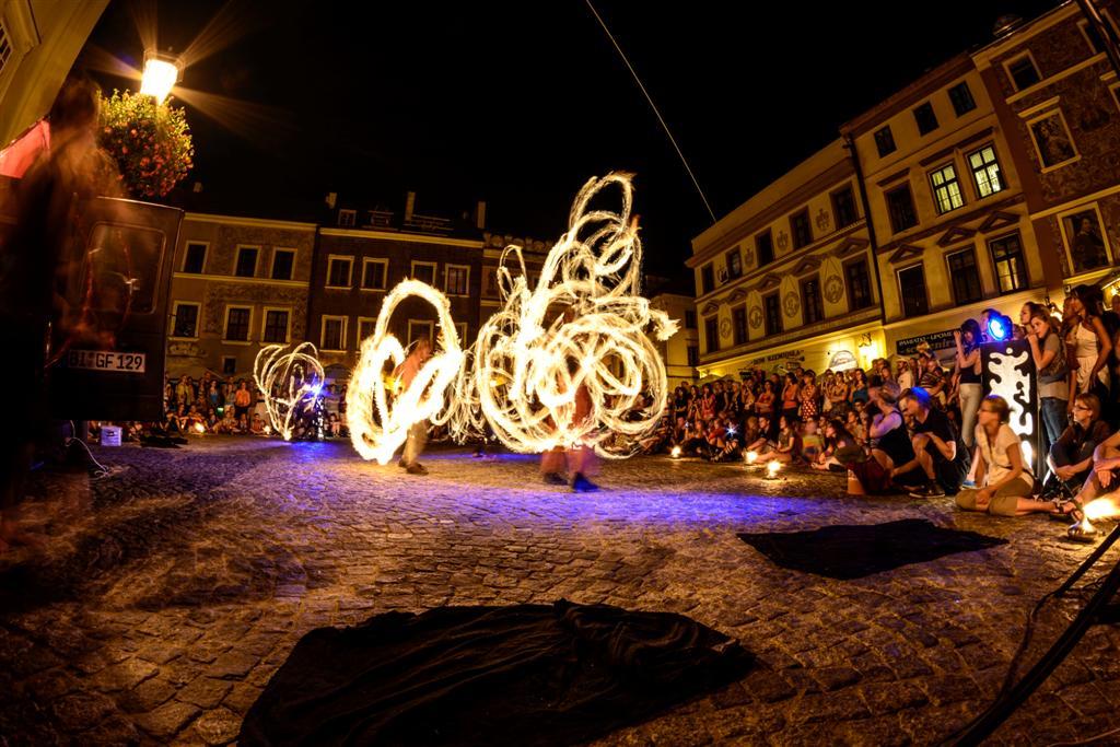Carnaval Sztuk-Mistrzów – Fire Night, fot. Jacek Scherer (źródło: materiały prasowe organizatora)