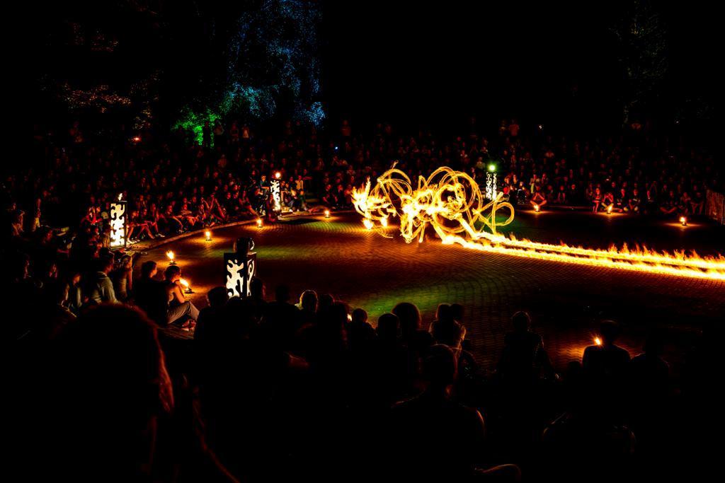 Carnaval Sztuk-Mistrzów – Fire Space, fot. Jacek Scherer (źródło: materiały prasowe organizatora)