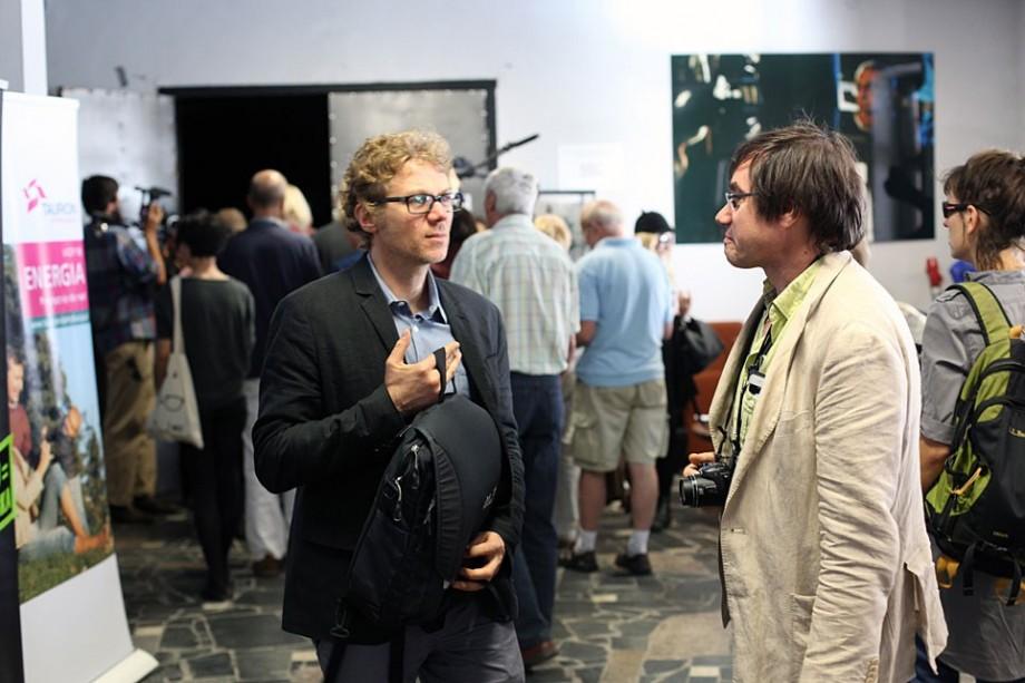 Marcin Latałło, Alain Martin, fot. Marcin Polak (źródło: materiały prasowe organizatora)