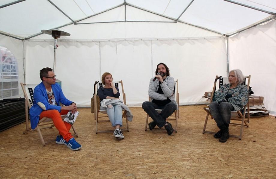 Spotkanie z twórcami filmu Królowa aniołów, fot. Marcin Polak (źródło: materiały prasowe organizatora)