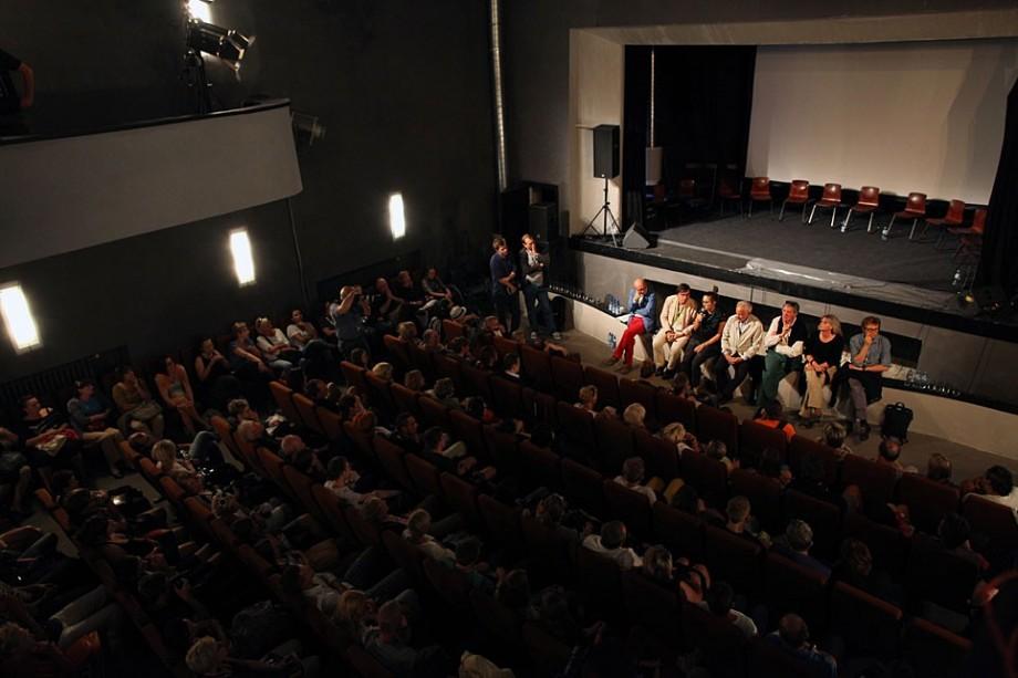 Spotkanie z twórcami filmu Biały, fot. Marcin Polak (źródło: materiały prasowe organizatora)