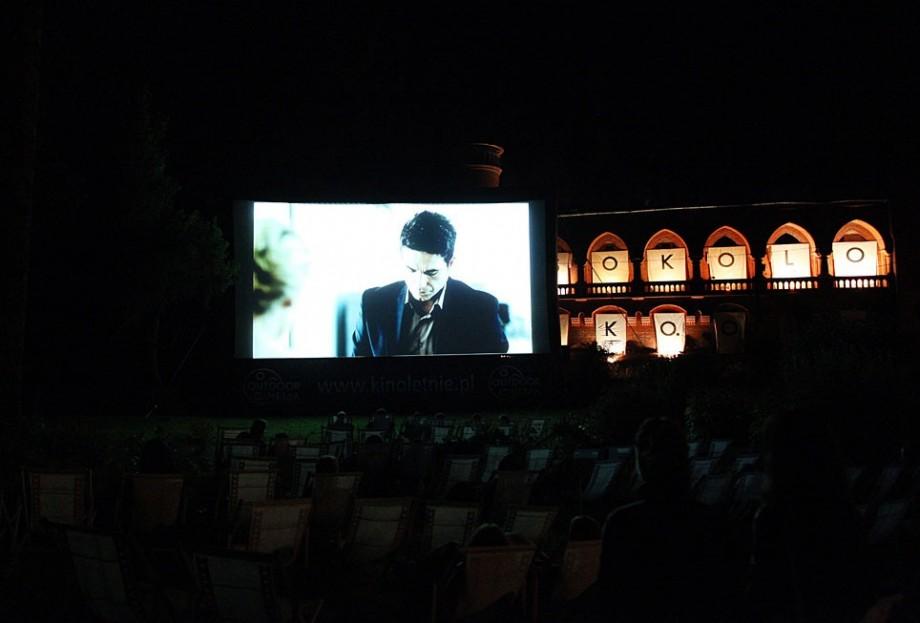 Kino plenerowe Zamek, fot. Marcin Polak (źródło: materiały prasowe organizatora)