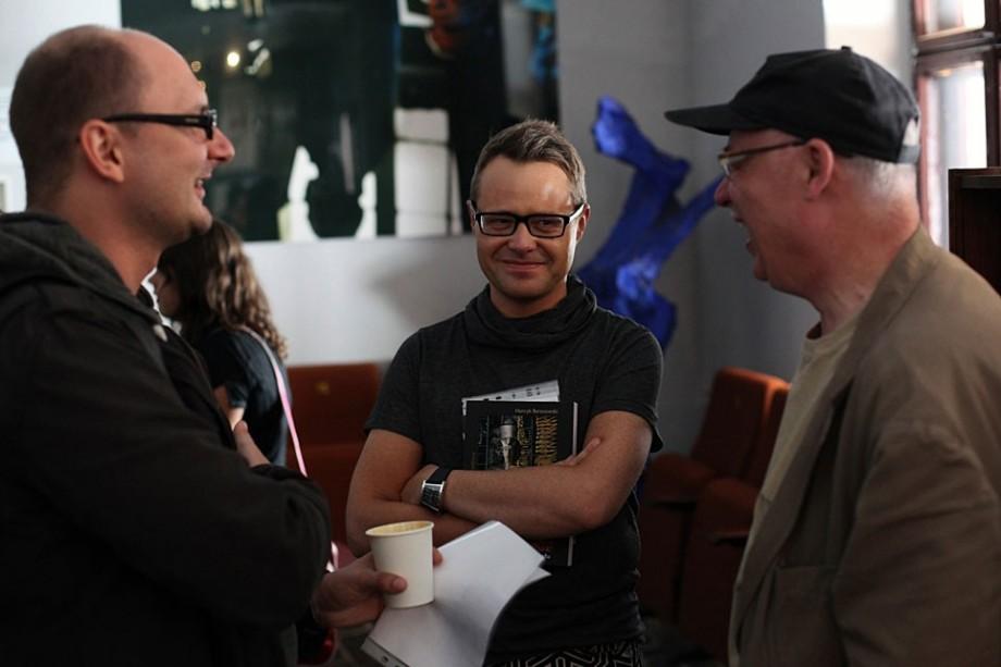 M. Adamczak, L. Maciejewski, S. Zawiśliński, fot. Marcin Polak (źródło: materiały prasowe organizatora)